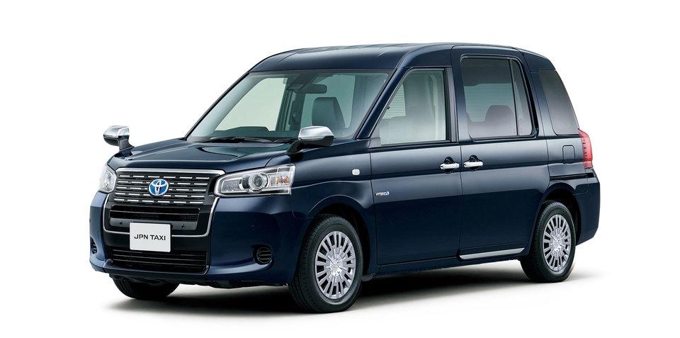 2018 Toyota JPN Taxi revealed