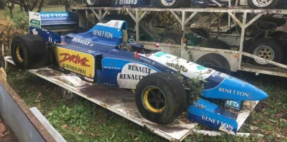 There are barn finds, and then there's this: a historic Formula One heaven