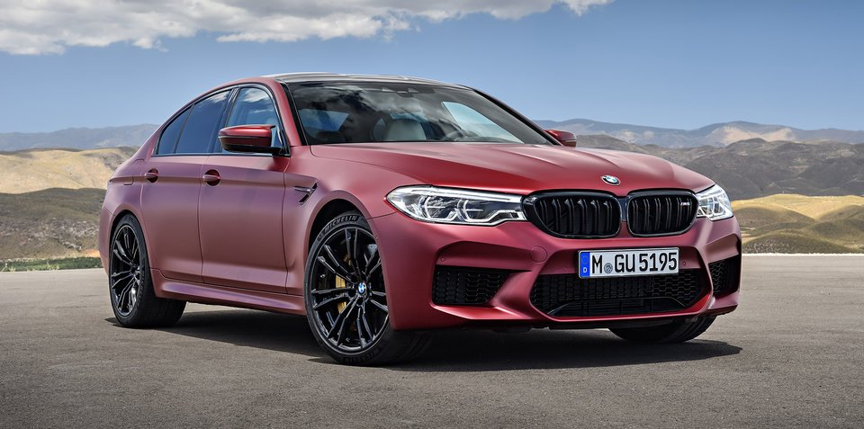 2018 BMW M5 pricing and specs