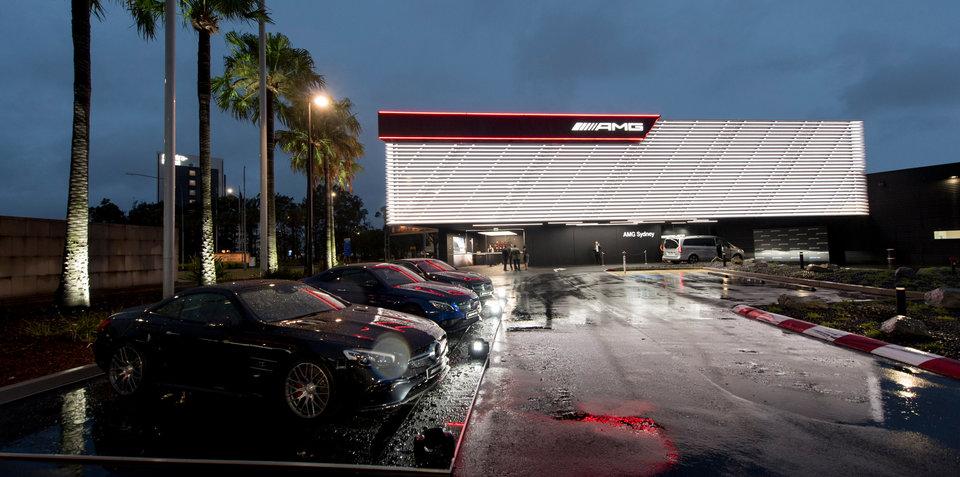 Mercedes amg buka dealer pertamanya di sydney australia for Mercedes benz sydney service