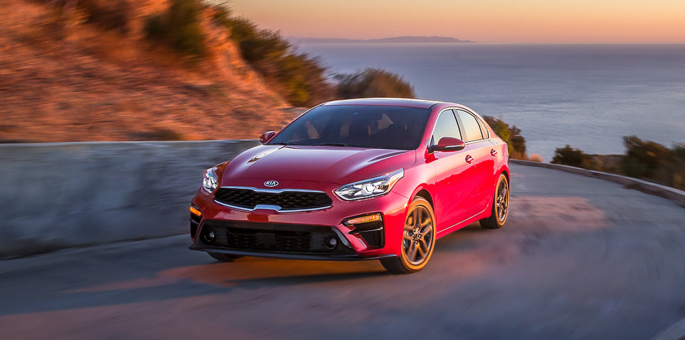 2018 Kia Cerato revealed in Detroit