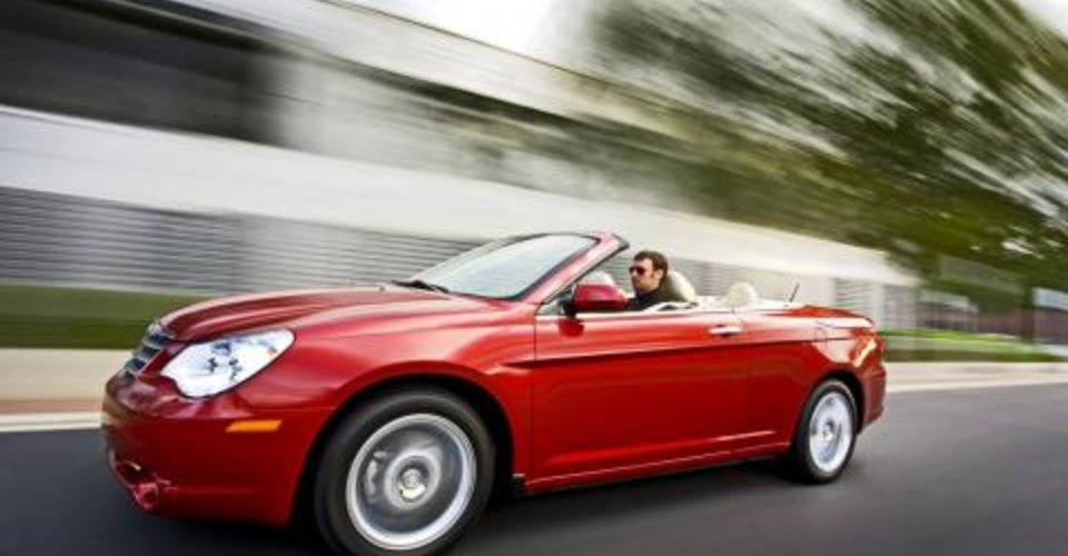 chrysler announces sebring cabrio pricing. Black Bedroom Furniture Sets. Home Design Ideas