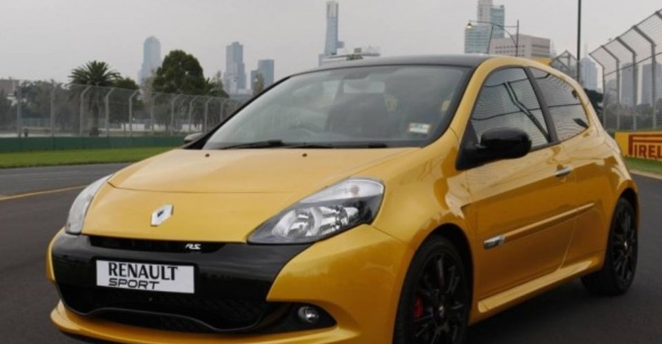 2011 renault clio r s 200 australian grand prix limited. Black Bedroom Furniture Sets. Home Design Ideas