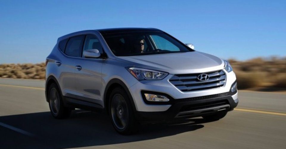 hyundai santa fe australian prices and specifications. Black Bedroom Furniture Sets. Home Design Ideas