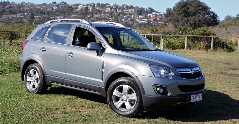 2012 Holden Captiva 5 Review