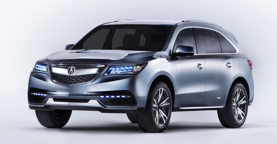 Arrival Of 2014 Acura Mdx | Autos Post
