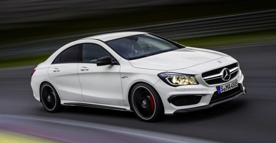 Mercedes benz cla45 amg 265kw four door coupe debuts in for Mercedes benz cla 500