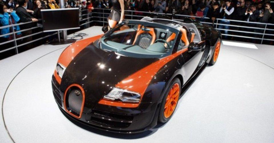 bugatti veyron grand sport vitesse world record car edition revealed. Black Bedroom Furniture Sets. Home Design Ideas