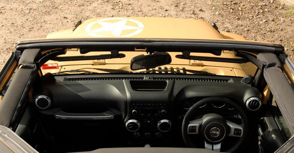 Jeep Wrangler Freedom Review : Off the beaten track weekender