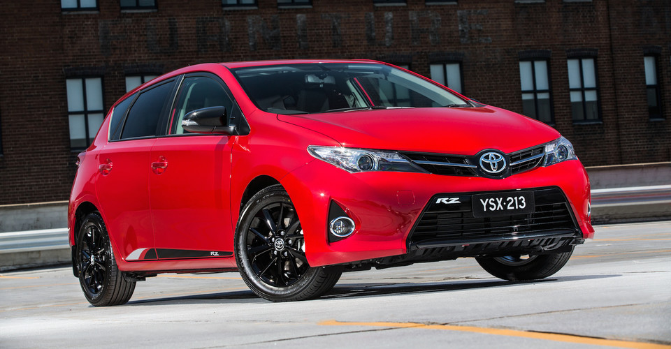 toyota corolla rz special edition launches from 22 290. Black Bedroom Furniture Sets. Home Design Ideas