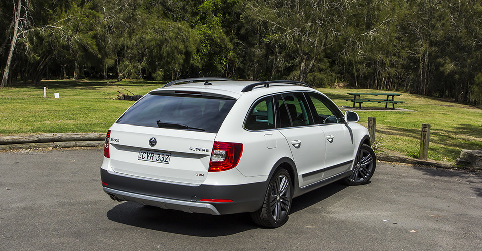 2015 Skoda Superb 4x4 Outdoor Review