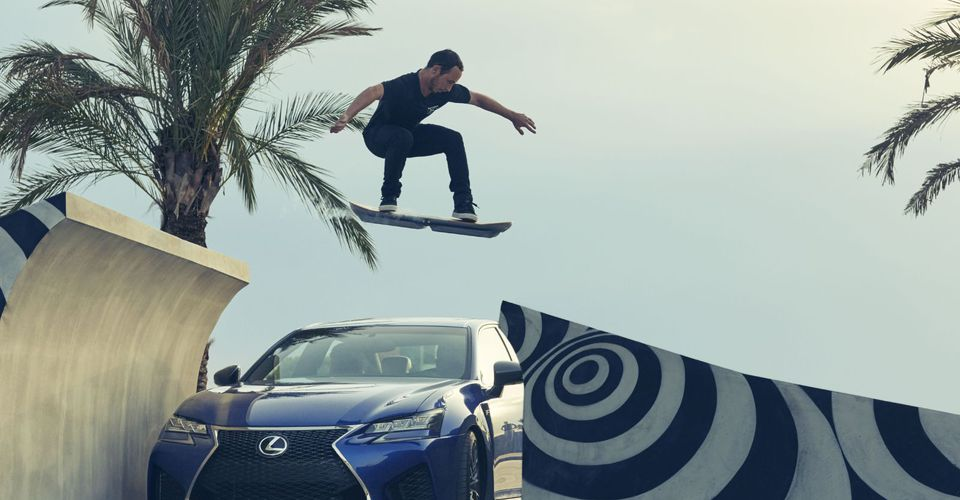 lexus hoverboard revealed in action keep those liquid nitrogen refills handy. Black Bedroom Furniture Sets. Home Design Ideas