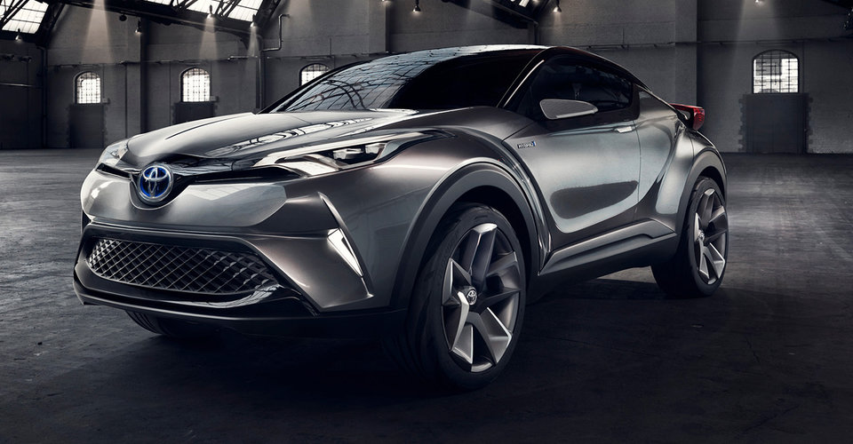 toyota c hr suv to make production leap at geneva motor show. Black Bedroom Furniture Sets. Home Design Ideas