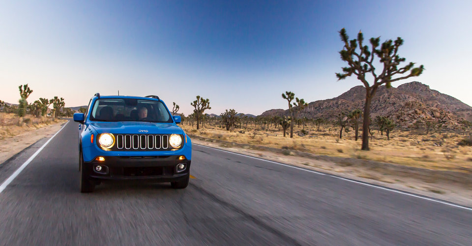 2016 Jeep Renegade Review : Exploring Joshua Tree National Park