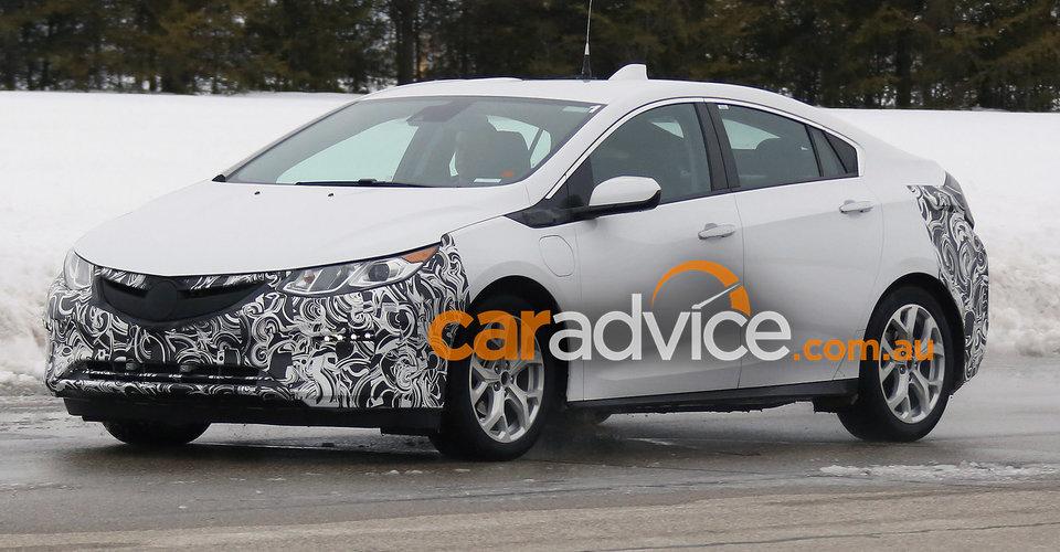 2017 Opel Ampera spied in Europe:: Holden Ampera to follow in ...