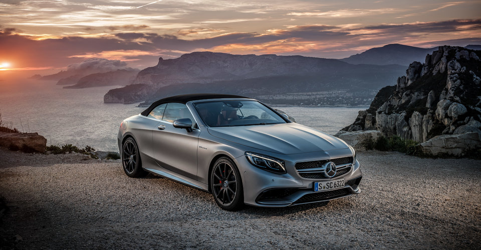 Mercedes S Cabriolet Five Layers