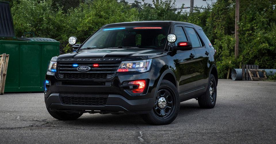 ford unveils no profile light bar for police interceptor vehicles photos 1 of 4. Black Bedroom Furniture Sets. Home Design Ideas