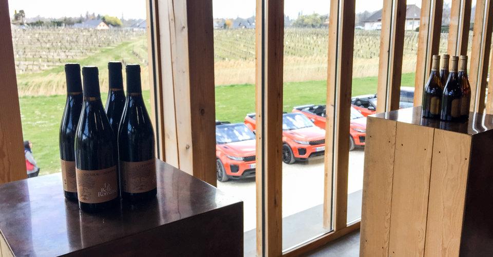 Destination Drive : Courchevel, France in a Range Rover Evoque Convertible