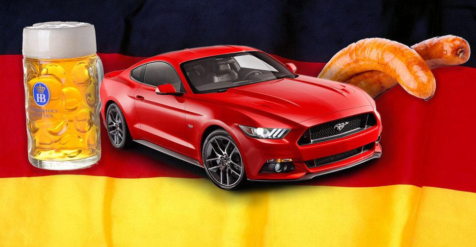 ford mustang is smashing the sales charts in germany too. Black Bedroom Furniture Sets. Home Design Ideas