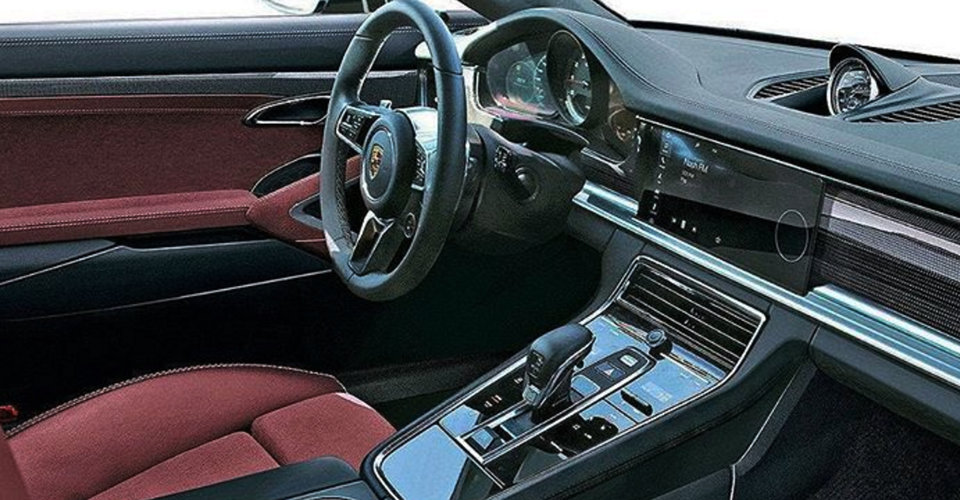 Besides 2017 Porsche Panamera Interior On New 2016 Porsche ...