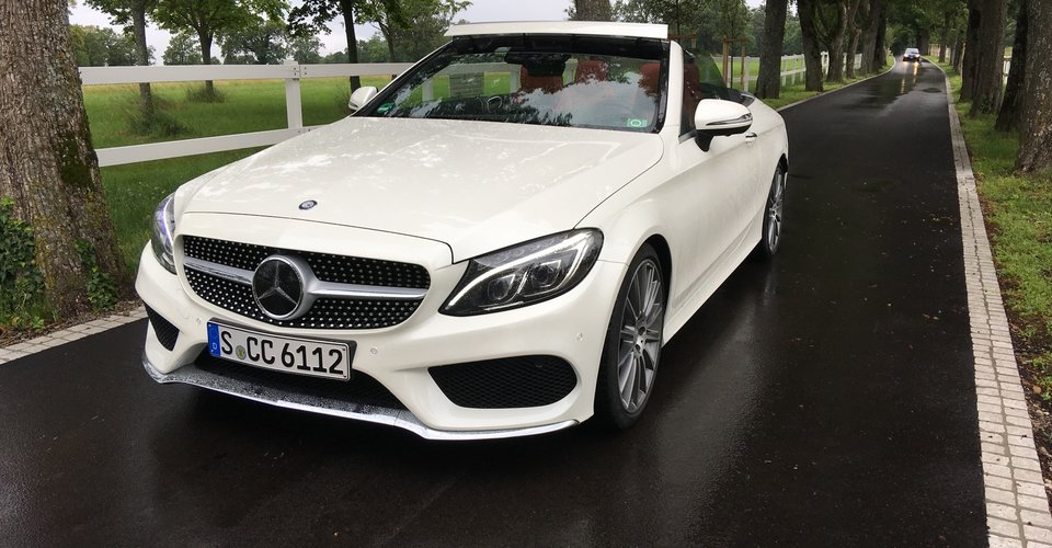 2017 Mercedes Benz C Class Cabriolet Review Cars News