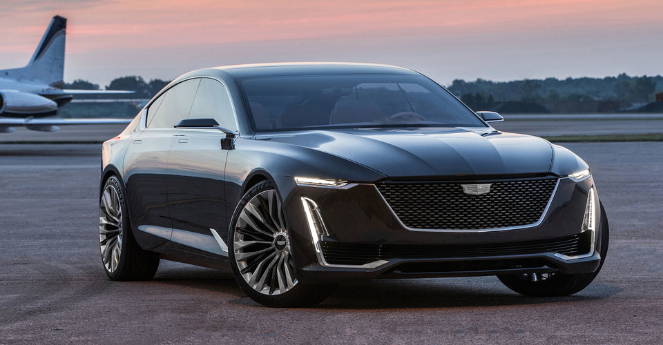 cadillac escala concept debuts brand 39 s new styling. Black Bedroom Furniture Sets. Home Design Ideas