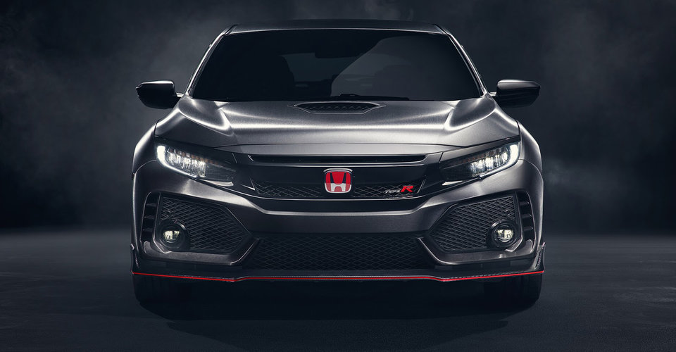 2017 honda civic type r confirmed for geneva photos 1 of 3. Black Bedroom Furniture Sets. Home Design Ideas