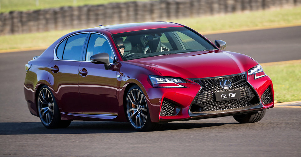 2017 lexus gs f and rc f get adaptive suspension upgrade