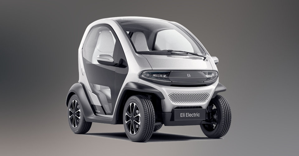 eli zero renault twizy style ev revealed before ces 2017. Black Bedroom Furniture Sets. Home Design Ideas