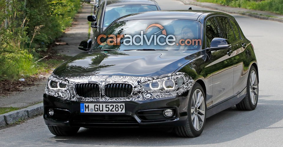 2018 bmw 1 series update spied. Black Bedroom Furniture Sets. Home Design Ideas