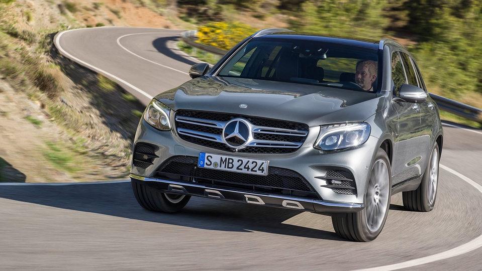 2016 Mercedes-Benz GLC Review : International Launch
