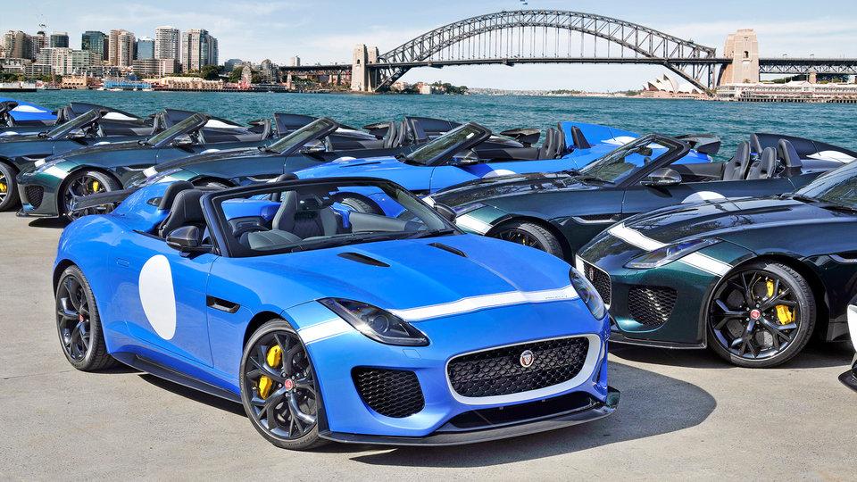 Jaguar F-Type Project 7 arrives in Australia