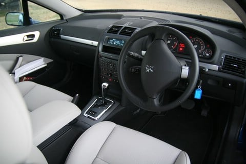 Peugeot 407 coupe interior online for Inside 2007 online