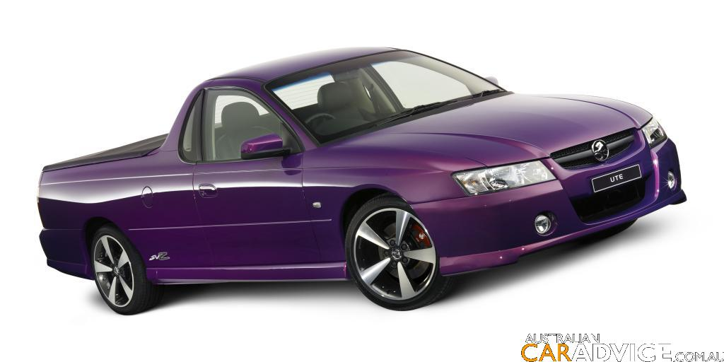 2007 Holden Commodore Svz Ute And Wagon Special Edition
