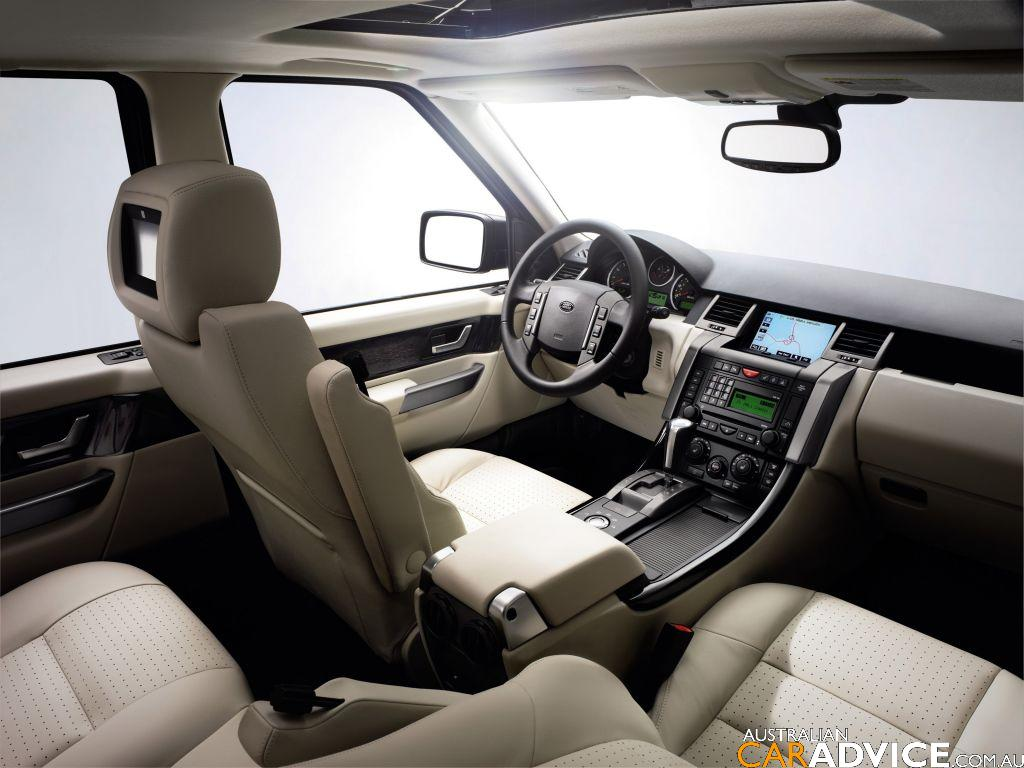 2008 range rover sport photos 1 of 4 for Interieur sport
