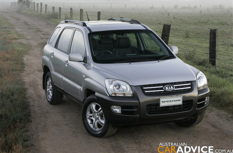 2007 kia sportage 4wd road test caradvice. Black Bedroom Furniture Sets. Home Design Ideas