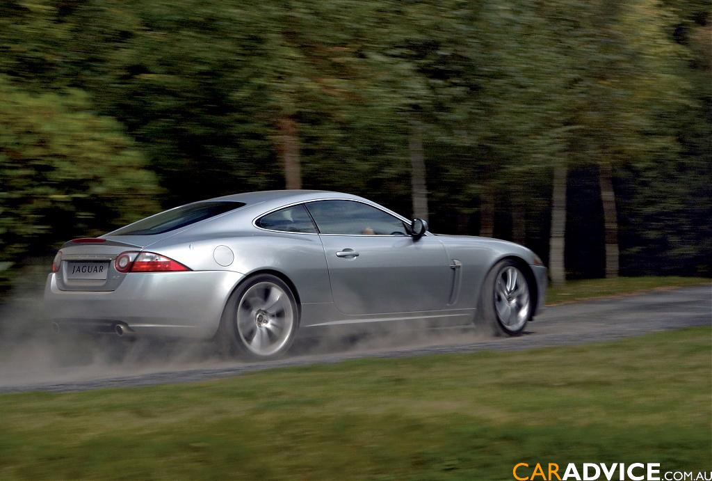 2007 jaguar xk coupe review caradvice. Black Bedroom Furniture Sets. Home Design Ideas
