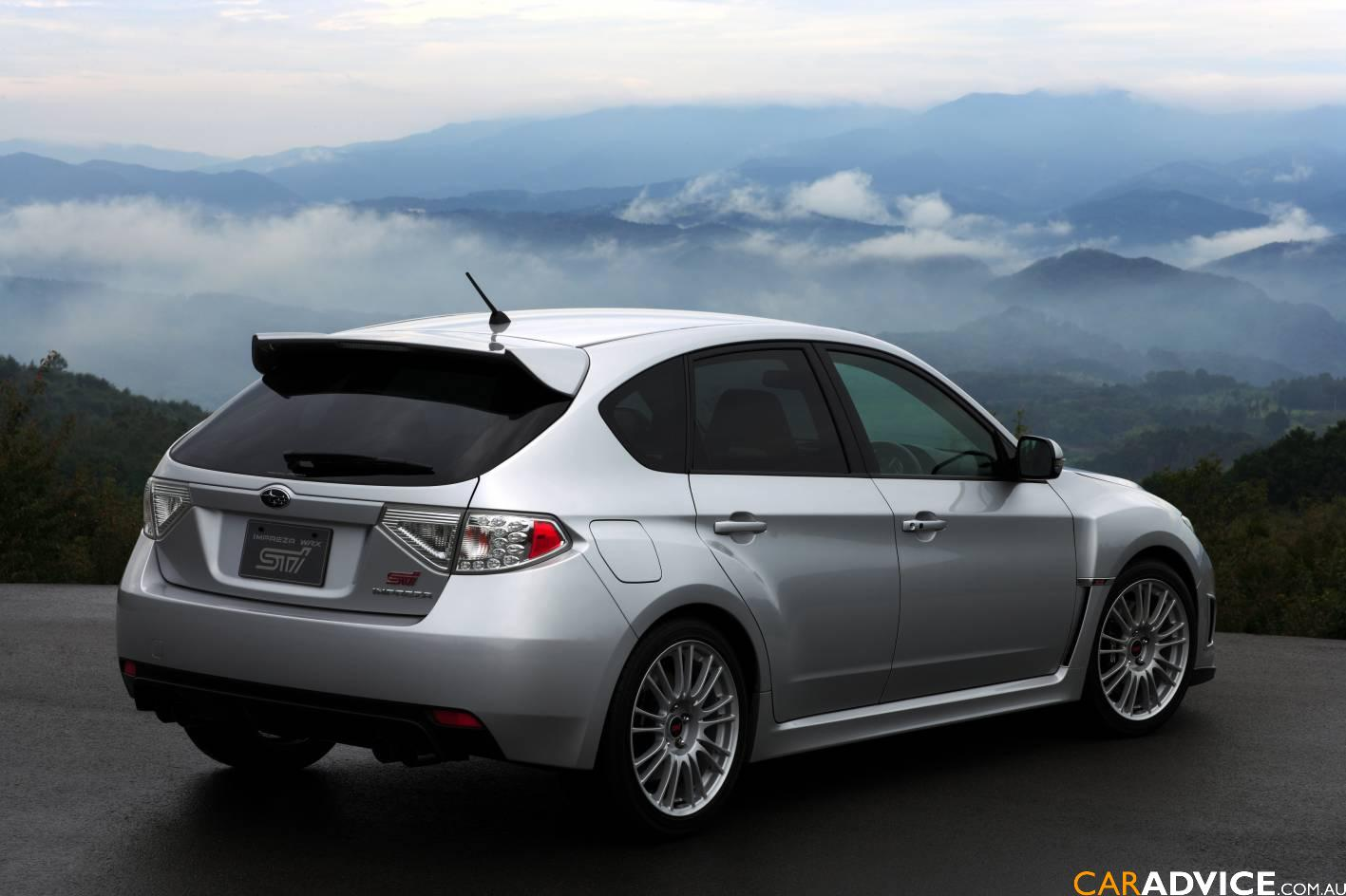 all new subaru impreza wrx sti launched photos 1 of 6. Black Bedroom Furniture Sets. Home Design Ideas