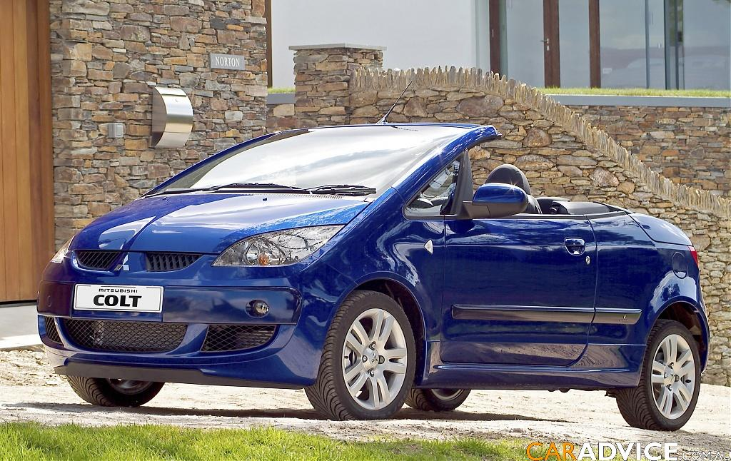 2007 Mitsubishi Colt Cabriolet review | CarAdvice