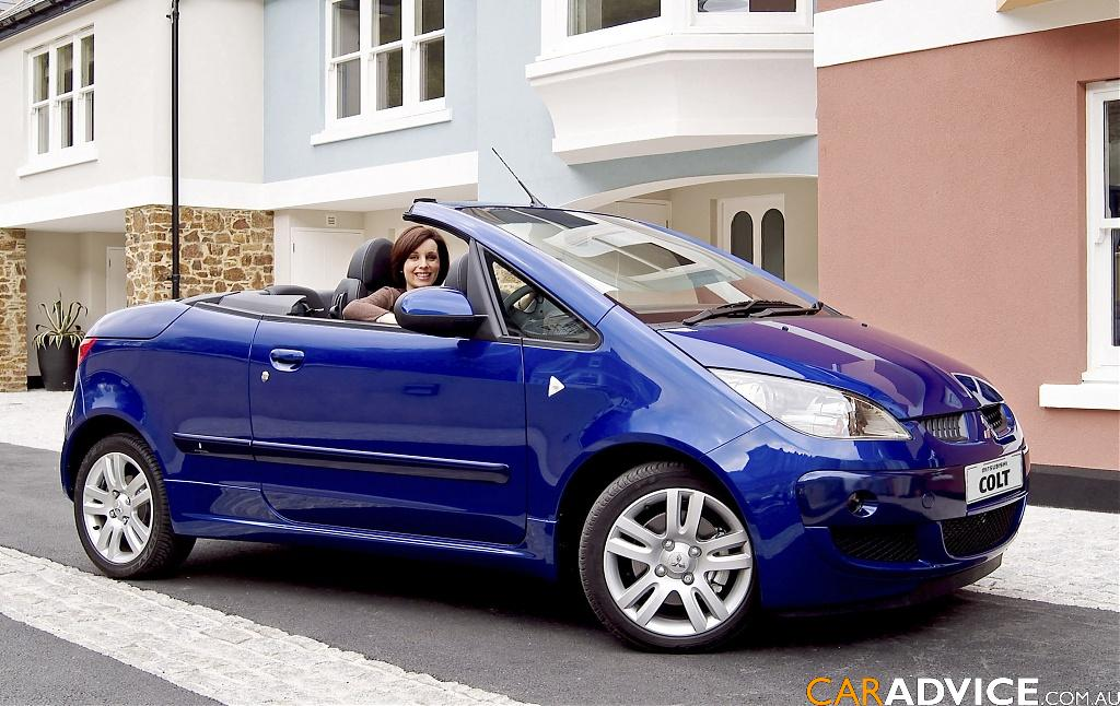 2007 Mitsubishi Colt Cabriolet Review Caradvice