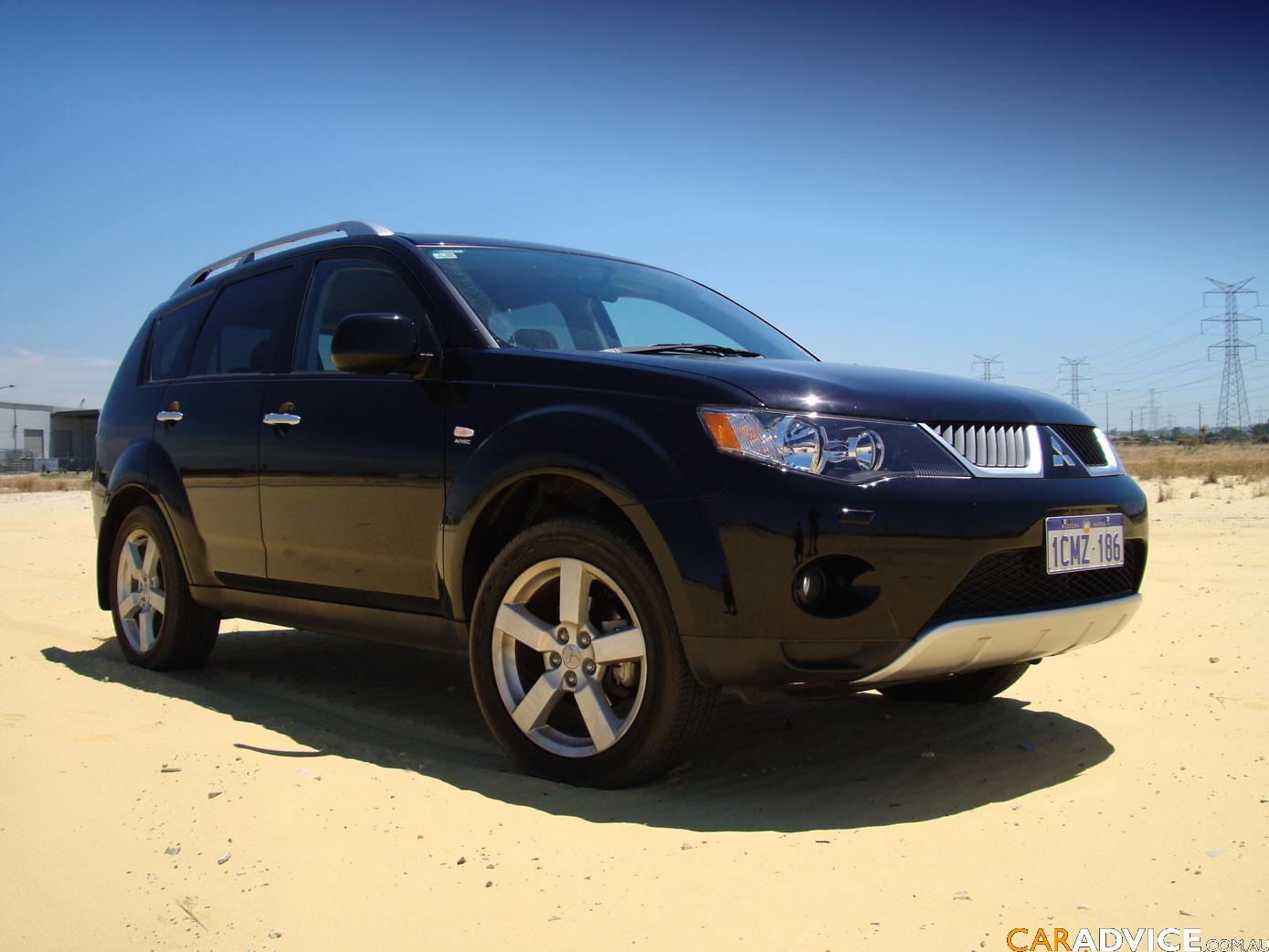2007 Mitsubishi Outlander Vrx Review Caradvice