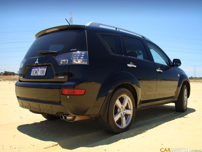 2007 Mitsubishi Outlander Vrx Review Caradvice