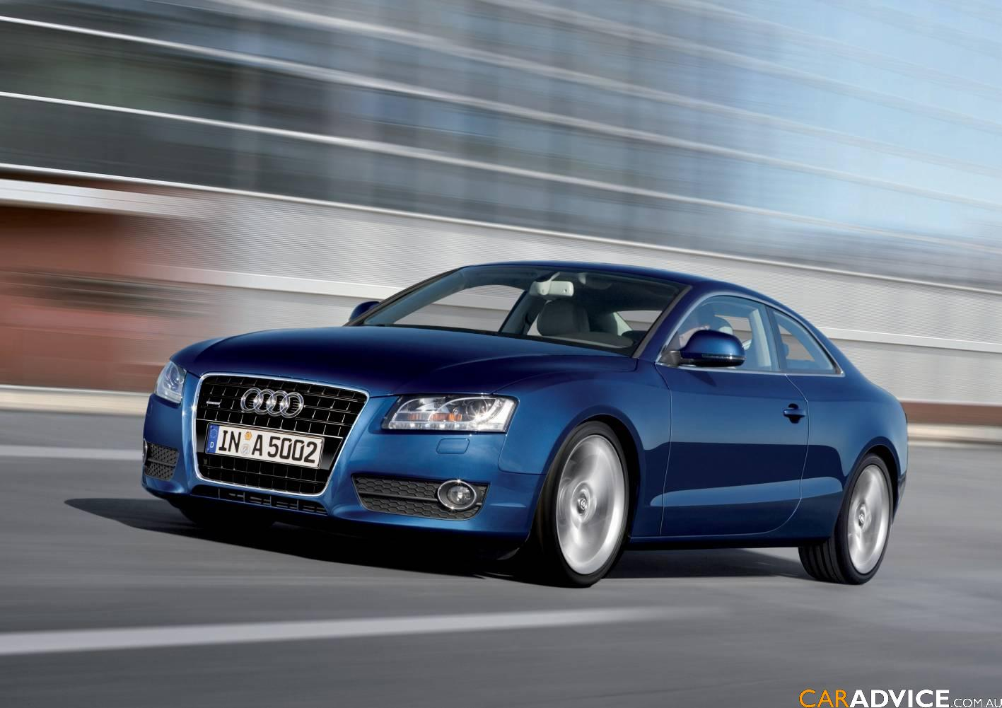 audi a5 coupe arrives in australia photos 1 of 4. Black Bedroom Furniture Sets. Home Design Ideas