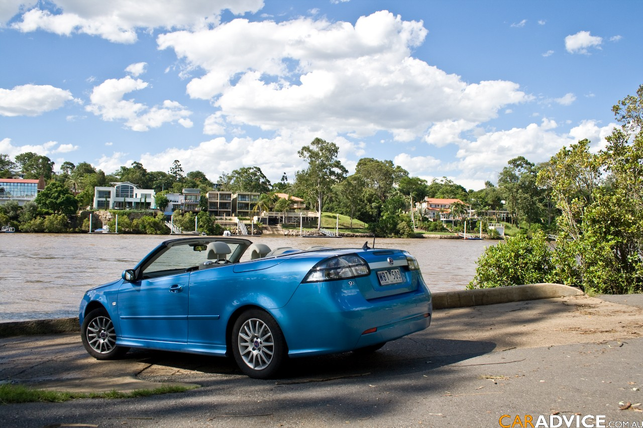 2008 saab 9 3 convertible review caradvice. Black Bedroom Furniture Sets. Home Design Ideas