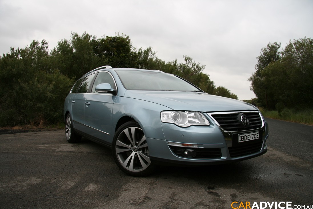 Land Rover Hse >> 2008 Volkswagen Passat V6 4Motion review | CarAdvice