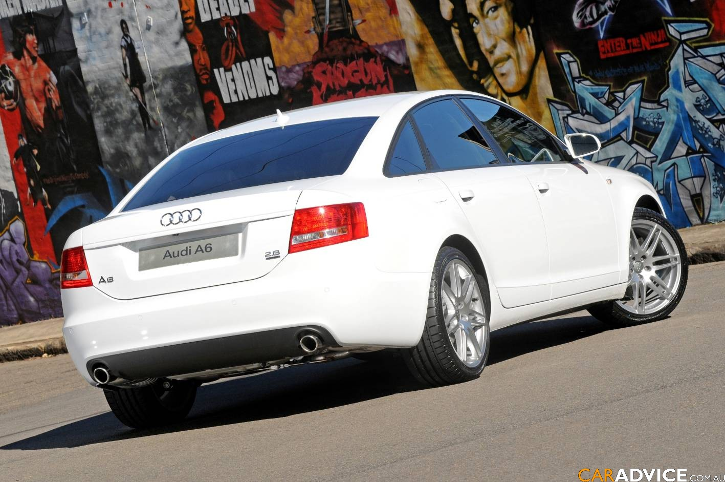 2008 Audi A6 White Edition Photos 1 Of 8