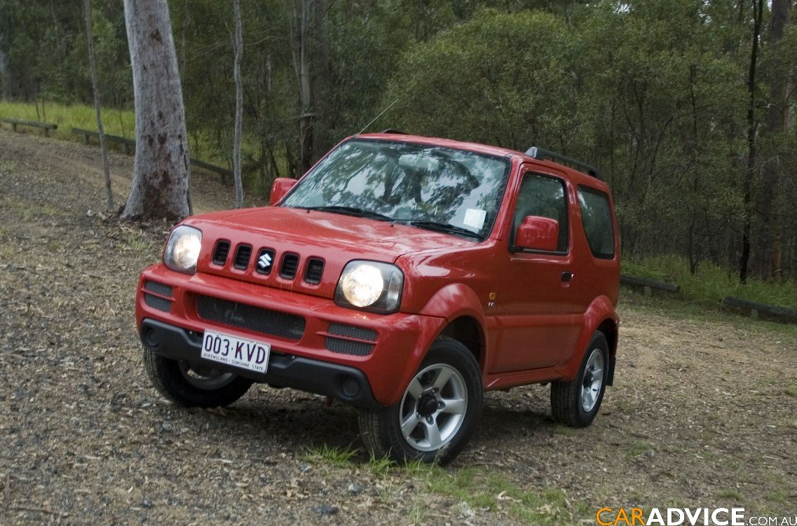 2008 suzuki jimny sierra review caradvice. Black Bedroom Furniture Sets. Home Design Ideas