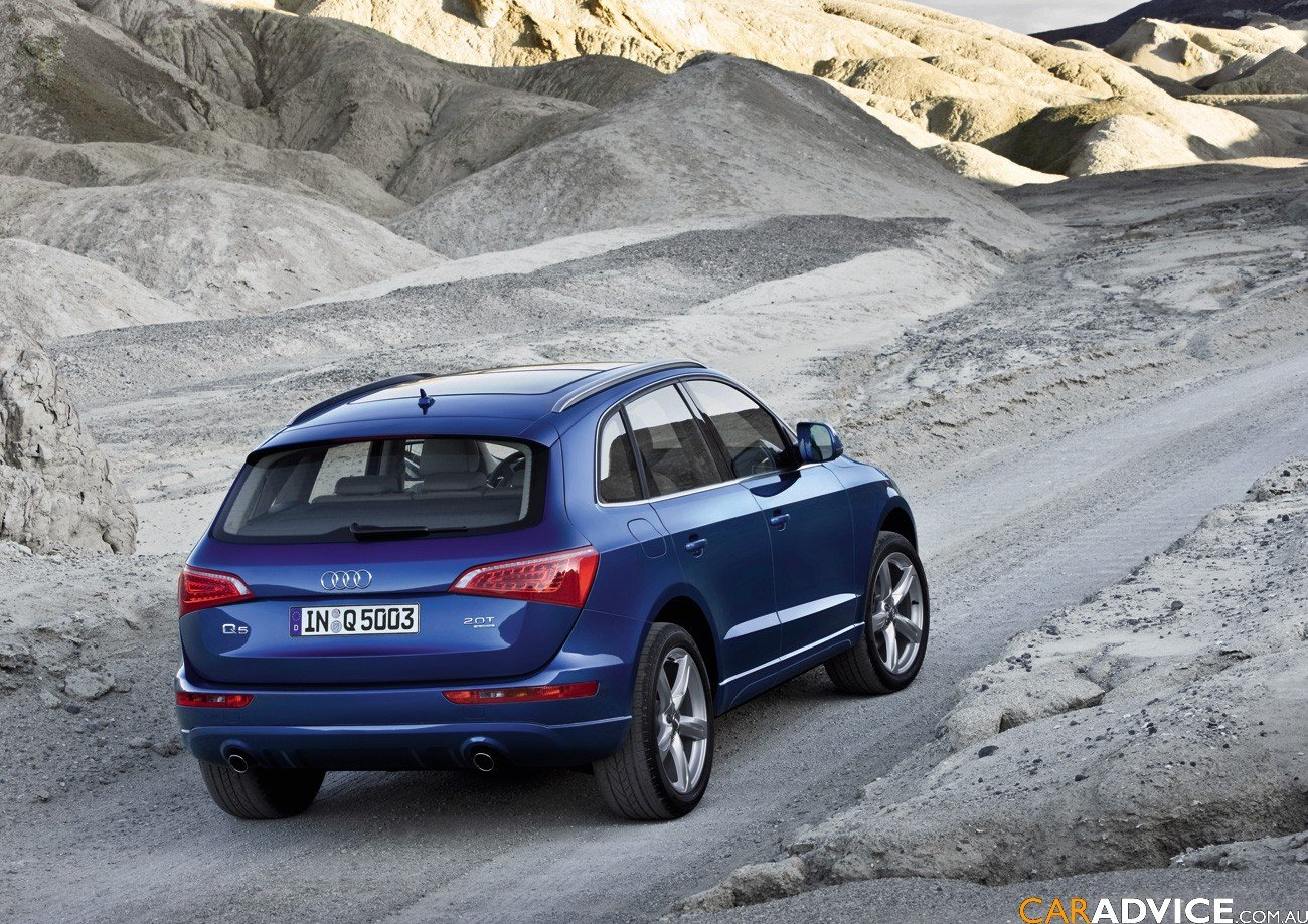 2009 Audi Q5 Sports Suv Launched Photos 1 Of 12