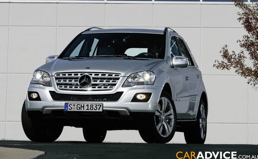 2009 mercedes benz m class specifications pricing for Mercedes benz ml350 2009