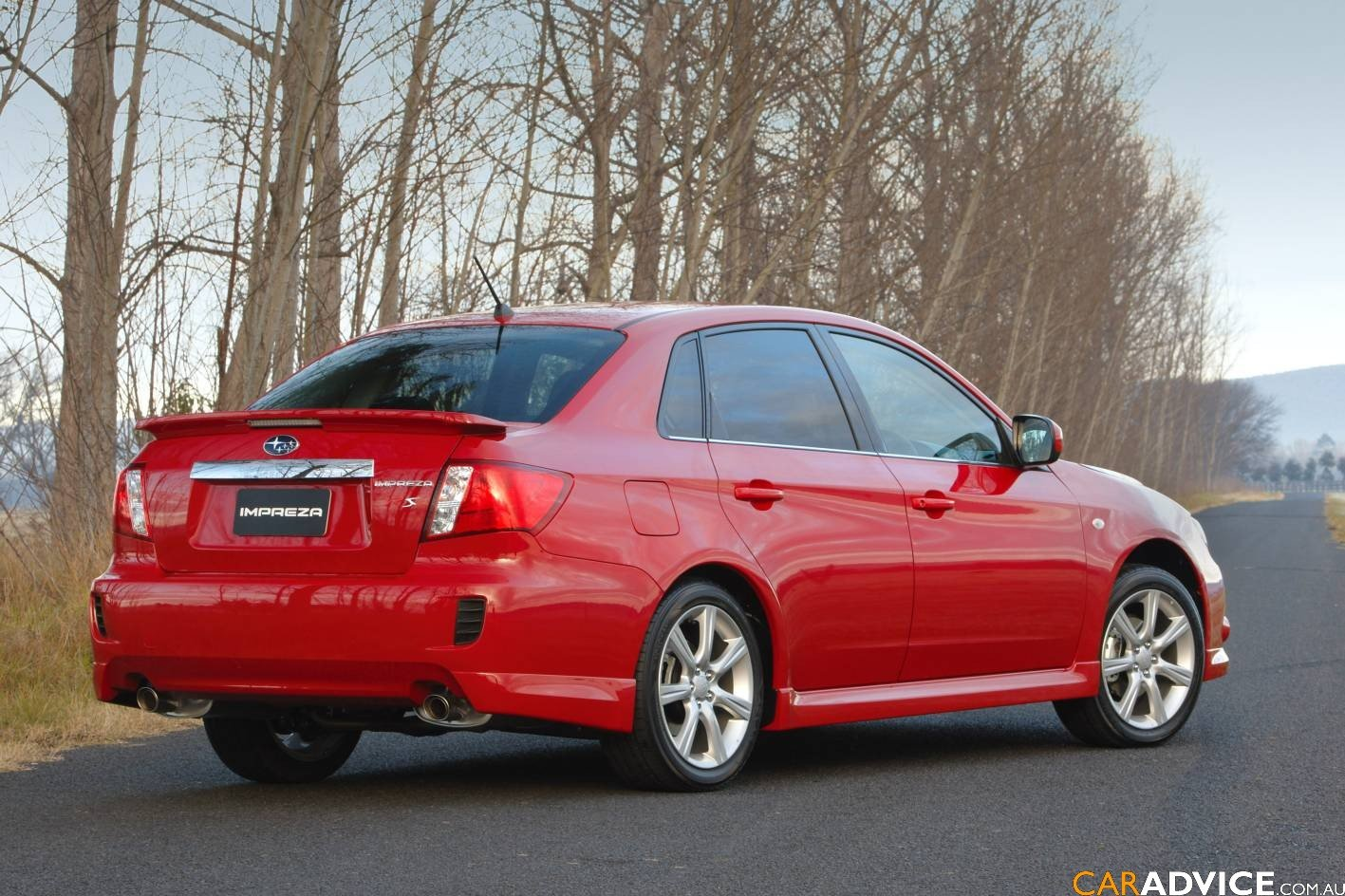 2008 subaru impreza sedan launched photos 1 of 10. Black Bedroom Furniture Sets. Home Design Ideas